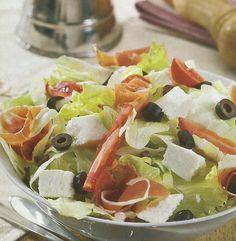Salada de Presunto com Requeijão - https://www.receitassimples.pt/salada-de-presunto-com-requeijao/