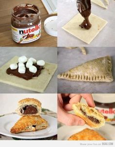 easy do-it-yourself nutella treats :) More