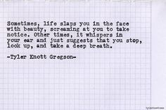 Typewriter Series #563 by Tyler Knott Gregson