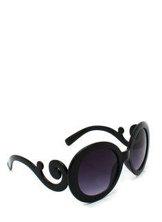 $14.98 round baroque sunglasses  S: Can anyone say CARLY CRISTMAN? ooooh I love knockoff ahaha Prada: 290...GoJane...15! I love saving money ahaha