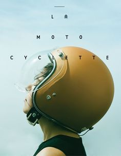 La Moto Cyclette Cover — The Women's Motorcycle Exhibition in Typography