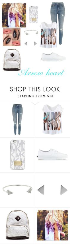 """""""Arrow heart"""" by samy-101 ❤ liked on Polyvore featuring interior, interiors, interior design, home, home decor, interior decorating, River Island, MICHAEL Michael Kors, Vans and Michael Kors"""