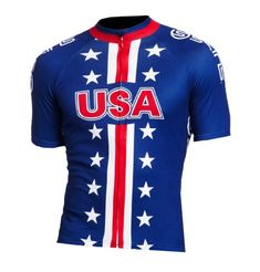 Xport Designs Mens Team USA QuickDrying Wicking Shortsleeved Cycling Jersey Upper Outer Garment XLarge -- Learn more by visiting the image link.Note:It is affiliate link to Amazon.