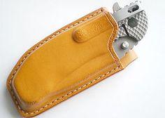 Light tan leather sheath for Zero Tolerance 0560