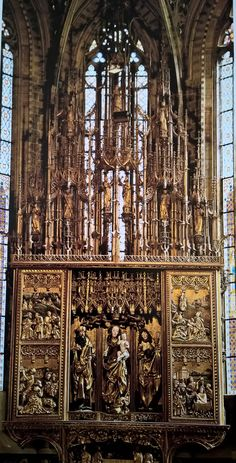 Hochaltar, Levoca Slowakei, 1508-1517 Bratislava, Altar, Native Country, Heart Of Europe, Church Building, Sacred Art, Kirchen, Czech Republic, Homeland