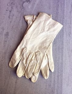 1950s Kid Gloves Leather Chevreau