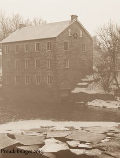 Watson's Mill, Manotick Christmas Frames, Christmas Cards, Quelques Photos, The Province, Ottawa, Small Towns, Colonial, Around The Worlds, Canada