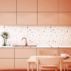 68 Kitchen Design Trends ~ My Dream Home Small Condo Kitchen, Kitchen Living, New Kitchen, Kitchen Interior, Modern Interior, Kitchen Decor, Terrazzo, Sweet Home, Küchen Design