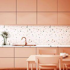 Small Condo Kitchen, Kitchen Living, New Kitchen, Kitchen Interior, Kitchen Decor, Minimalist Kitchen, Minimalist Apartment, Küchen Design, Design Trends