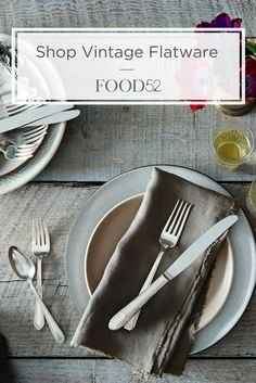 Shop our Vintage Silver-Plated Eclectic Flatware at food52.com. No two are alike! Code: SHIPFREE Offer: Free Shipping on orders of $100+ Exclusions: All Zwilling, All Demeyere, Blue Bottle Coffee Subscription, Food52 Gift Cards, Vintage, Copper, Brad Sherman for Food52. Valid through: 08/15/2018