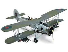 The Tamiya 1/48 British Fairey Swordfish Mk.II is a plastic model kit in the Tamiya 1/48 Aircraft Plastic Model Kits. This plastic Aircraft kit requires paint and glue to complete.