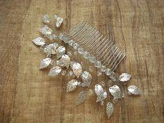 Peigne à cheveux perles mariée mariage cheveux peigne
