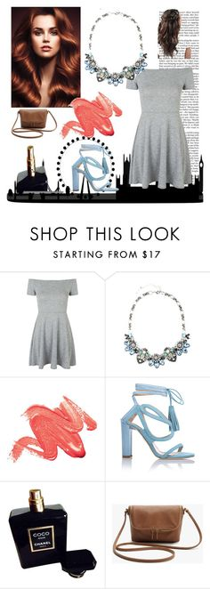 """""""Untitled #36"""" by theresagrace ❤ liked on Polyvore featuring Nicki Minaj, Topshop, Chelsea Paris and Chanel"""