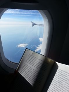 Image via We Heart It https://weheartit.com/entry/157722390 #books #clouds #Dream #love #peaceful #plane #sleep #think #travel #trip