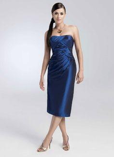 Fancy A-line dropped waist taffeta home coming dress