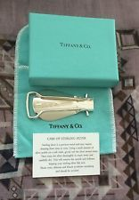Tiffany & Co 925 Silver Travel Shoe Horn Foldable Pouch Rare Vintage