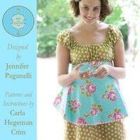 Betsey Apron - Size Girl's 3-Women's 3X Downloadable Pattern | Martha Pullen