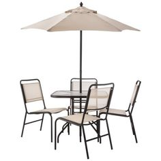 Room Essentials™ Oakview 6 Piece Sling Patio Dining Furniture Set Small  Enough For Our