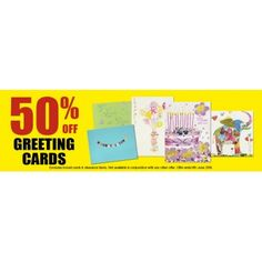 50% OFF Sale on Greeting Cards @ Whitcoulls - Bargain Bro