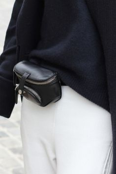 Women's Bags : Winter staples in Paris Womens Fashion Online, Latest Fashion For Women, My Bags, Purses And Bags, Leather Accessories, Fashion Accessories, Waist Purse, Leather Belt Bag, Hip Bag