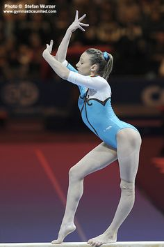 Swiss Cup 2011 Ana Porgras gymnast balance beam women's gymnastics #KyFun