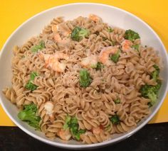 Shrimp and Broccoli Rotini - This one-pot meal is easy and delicious!