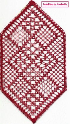 Pin Weaving, Bobbin Lace Patterns, Lace Heart, Lace Jewelry, Needle Lace, Lace Making, Le Point, Lace Detail, Bookmarks