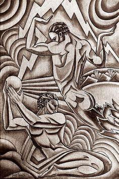 Deco Print - Tony Franza