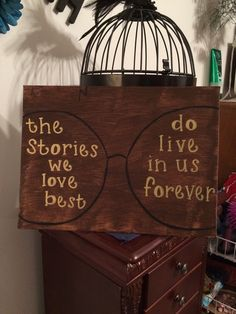 """Harry Potter """"Stories We Love"""" Hand Painted Canvas by GallifreyanTreasures on…"""
