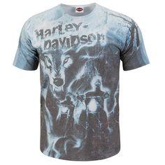 Harley-Davidson Mens Roar Of Thunder White Short Sleeve T-Shirt From Harley-Davidson Price: $9.99 http://mychoppers.com/ads/harley-davidson-mens-roar-of-thunder/