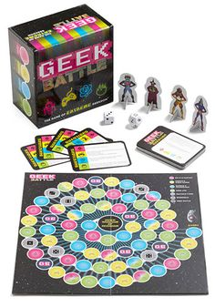 Geek Battle Board Game. $14.99