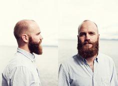 Wonderful long beard on a handsome man.