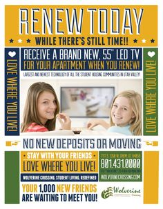 renew your lease Business Management, Property Management, Resident Retention, Residence Life, Apt Ideas, Commercial Real Estate, Real Estate Marketing, Student, Social Media