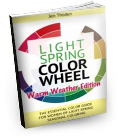 """""""How to Wear Your Light Spring Colors... In WARM Weather... So That You Look and Feel Beautiful Everyday""""  - Click through to learn more"""