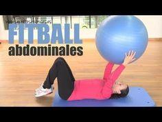 Rutina de abdominales con fitball