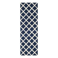 Peter Rug 2'3x9 Dark Blue, $159, now featured on Fab.
