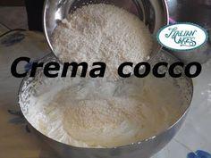 ▶ Ricetta Crema al cocco by Italiancakes - YouTube