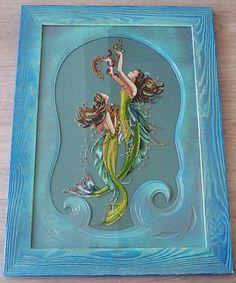 Gallery.ru / Mirabilia Designes - Mermaids of the Deep Blue - Оформленное - fesa