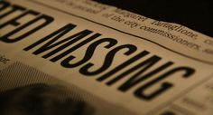 "I picked up the newspaper that was sitting in the café. The front page headline read, ""Young Man Missing"". Being a curios person, I began reading the article. What I read next was so appalling that I needed confirmation. 'Sir,"" I said to the man behind the counter, ""Would you please tell me this name right here?"" I asked pointing to the paper as he gave me a strange look. ""James McGee."" He said. I dropped the paper and ran out of the café. A.L.M."