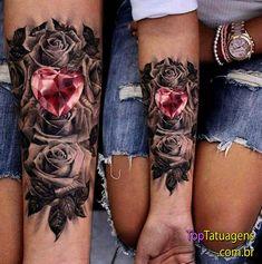 20 tatuagens femininas no braço para você se inspirar   Tattooforgirl #Tattooforwomen