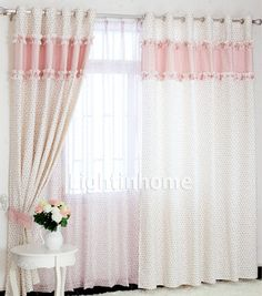 1000 Images About Little Girl Decor Ideas On Pinterest Pink Bedroom Curtains Girls Bedroom
