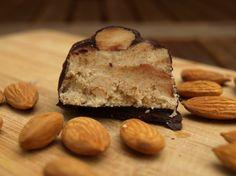 Almond Joy Protein Bar Recipe http://www.howtomakeproteinbars.com/day-23-almond-joy-protein-bar/