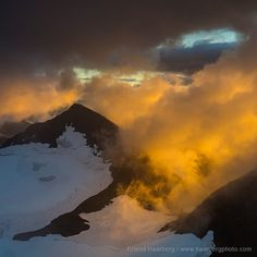 Photo by @haarbergphoto (Erlend Haarberg) We were standing on the top of Mt Ryggåsberget (1946m), 4-5 days walking distance from the nearest road in the heart of Swedish Laponia, when the late evening Sun broke through the cloud cover and lit up the landscape around us. Such moments repayed all the effort we made after hiking, skiing and canoeing several months in Europe's largest wilderness area.