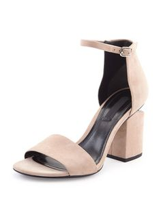 Why must suede do this to me?! That chunky hell though is amazing...I will be wearing these to my next interview with the biggest event planner in the world, and these shoes will get me that job! #NMshoelove