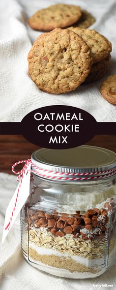 This Oatmeal Butterscotch Cookie Mix makes a great gift! It keeps for up to 6 months, and produces soft, chewy cookies. If butterscotch isn't your thing, just swap out those chips for cinnamon or semi-sweet chocolate.