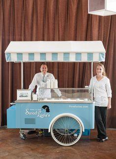 Sweet Lucie's Ice Cream cart