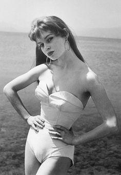 Brigitte Bardot,  icône glamour des années 60 - Mode années 60: les sixties sont de retour