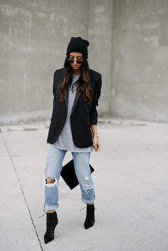 How to Wear The Boyfriend Blazer | Not Your Standard