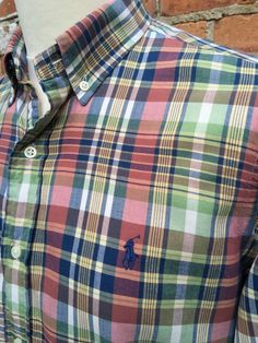 1331aaae6 #Polo #RalphLauren #Mens #Shirt #Medium #Classic #Fit #MultiColoured