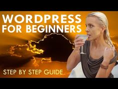 WORDPRESS FOR BEGINNERS This how to make a WordPress website for beginners tutorial for 2020 covers all the steps needed to create your own WordPress website. Making A Wordpress Website, Wordpress Help, Wordpress Plugins, Web Design Training, Website Tutorial, Training School, Professional Website, Training Videos, Create Photo
